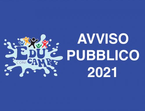Progetto EDUCAMP CONI 2021